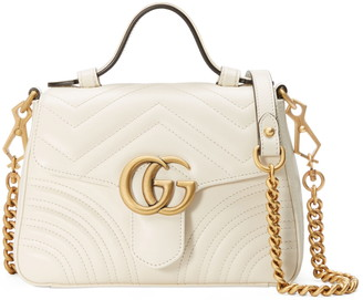Gucci GG Matelasse Leather Top Handle Bag