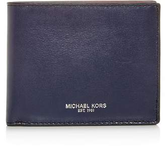 Michael Kors Slim Leather Bi-Fold Wallet