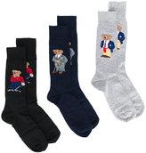 Polo Ralph Lauren pack of three socks