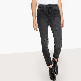 """La Redoute Collections Slim Fit Biker Jeans, Length 29.5"""""""