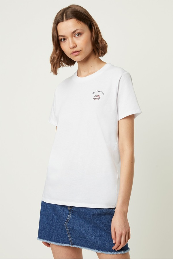 dfb521a1493 French Connection Graphic T Shirts - ShopStyle UK