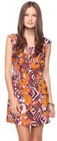 Love 21 Vibrant Ikat Print Dress