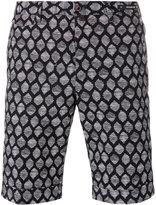 Pt01 printed shorts