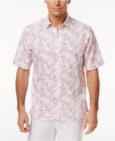 Tasso Elba Men's Leaf and Dot Print Shirt, Created for Macy's