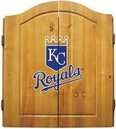 Kansas City Royals Dartboard Cabinet