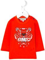 Kenzo 'Tiger' T-shirt - kids - Cotton - 9 mth