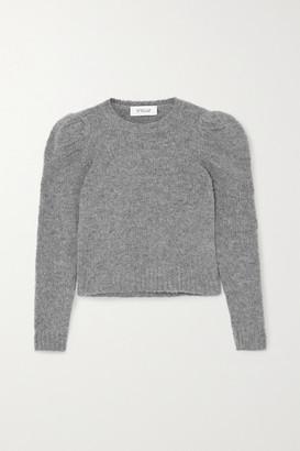 Derek Lam 10 Crosby Locken Cropped Knitted Sweater - Gray