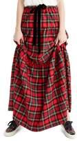 J.Crew J. CREW Tartan Plaid Tiered Maxi Skirt