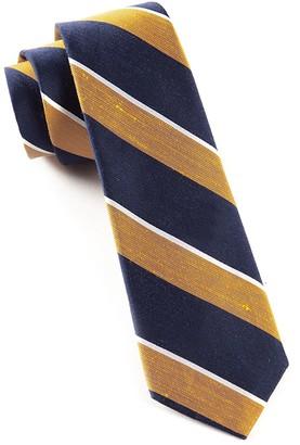 Tie Bar Patina Stripe Orange Tie