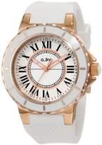 A Line AL-20008 – Unisex Watch – Analogue Quartz – White Silicone bracelet