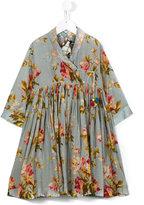 Pero Kids - floral print dress - kids - Silk/Cotton - 8 yrs