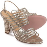 a. testoni Heeled Strappy Sandals - Leather (For Women)