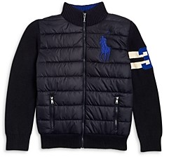 Ralph Lauren Polo Boys' Hybrid Jacket - Big Kid