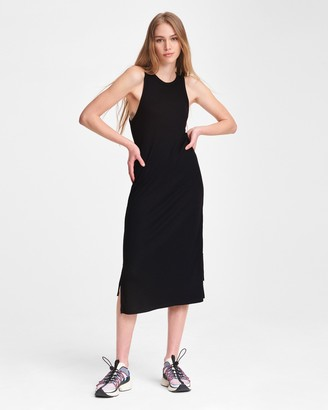 Rag & Bone The knit rib zip midi dress