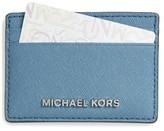 MICHAEL Michael Kors Women's 'Jet Set' Card Holder - Blue