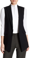 Theory Flavio Edition Wool Blend Vest