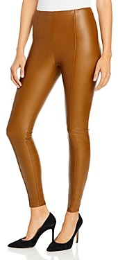 Lysse Textured Faux Leather Leggings