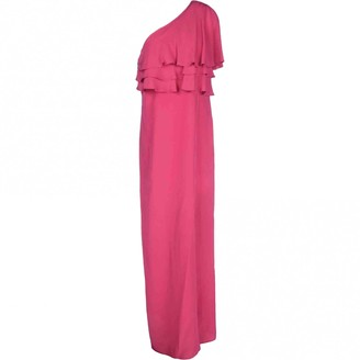 Space Style Concept Pink Silk Dresses