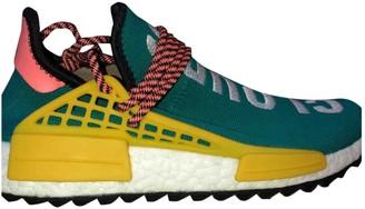 Adidas X Pharrell Williams NMD Hu Blue Suede Trainers