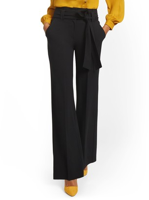 New York & Co. Tall Paperbag-Waist Wide-Leg Pant - 7th Avenue