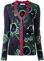 Tory Burch floral pattern buttoned cardigan