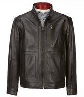Roundtree & Yorke Lambskin Moto Jacket