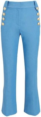 Derek Lam 10 Crosby Robertson Sailor Cropped Trousers