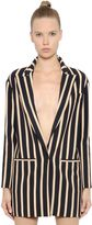 Ungaro Stripes Crepe Sable Jacket