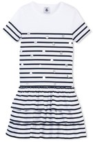 Petit Bateau Girls short-sleeved striped dress