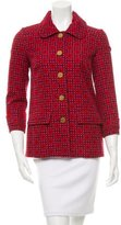 Tory Burch Geometric Print Lightweight Jacket