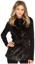Ellen Tracy Faux Mink Coat