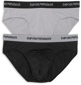 Emporio Armani Stretch Cotton Briefs, 2-Pack