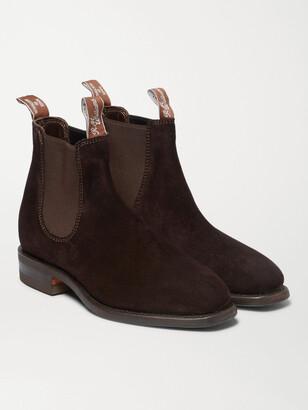 R.M. Williams Comfort Craftsman Suede Chelsea Boots