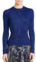 Christopher Kane Metallic Knit Sweater