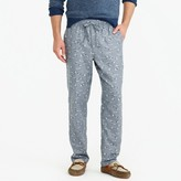 J.Crew Flannel pajama pant in duck print