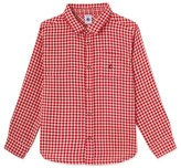 Petit Bateau Boys check shirt
