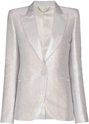 Paco Rabanne Iridescent single-breasted blazer