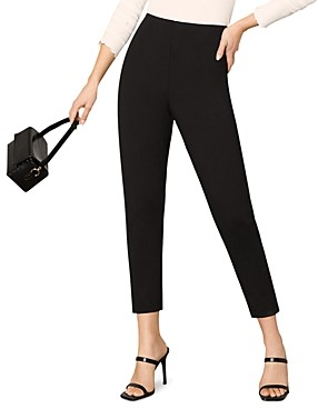 Cupcakes And Cashmere Gina Cropped Stretch Ponte Pants