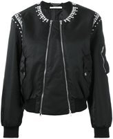 Givenchy Crystal Embellished Bomber Jacket