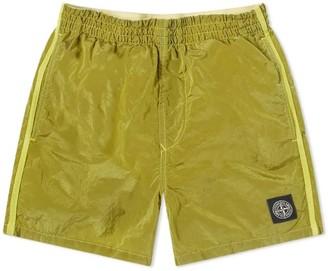 Stone Island Shorts W/pocket On Back