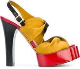 Vivienne Westwood platform sandals - women - Leather/Satin - 37