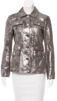 Tory Burch Coated Leather Jacket