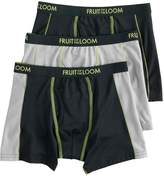 Fruit of the Loom Boys 4-20 3-Pack Flex Boxer Briefs