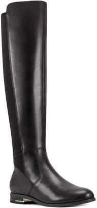 Nine West Leather Low Heel Boots - Levi
