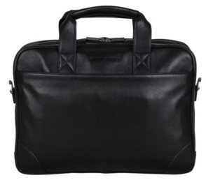 "Ben Sherman Karino Leather 15"" Computer Case Bag"