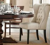 Pottery Barn Thayer Tufted Wingback Chair