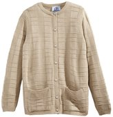 Silverts Disabled Elderly Needs Womens Two Pocket Cardigan Sweater For Elderly Senior Women - XL