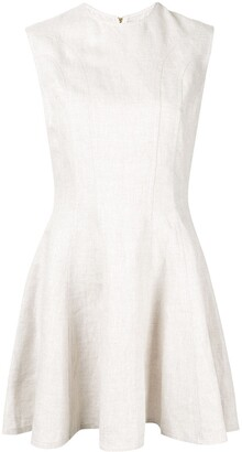 Karen Walker Serapis panelled dress