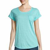 A.N.A a.n.a Short Sleeve Scoop Neck T-Shirt-Talls