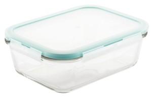 Lock n Lock Purely Better Glass 34-Oz. Rectangular Food Storage Container